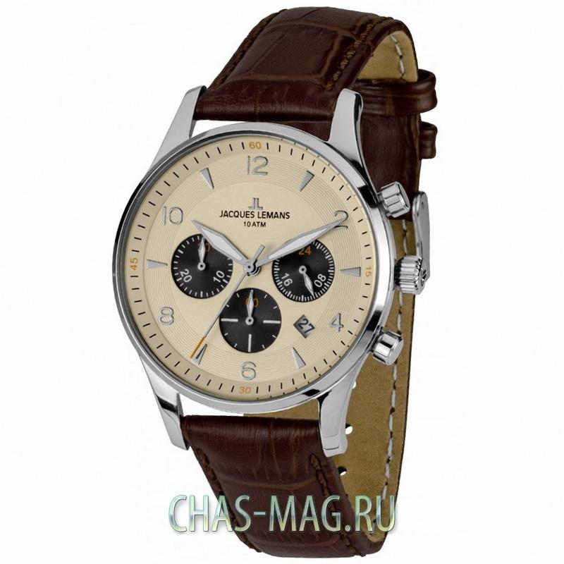 Мужские часы Jacques Lemans Classic 1-1699B